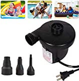 Electric Air Pump for Inflatables - Air Mattress Portable Pump for Inflatables Couch, Perfect Inflator/Deflator Pumps for Outdoor Camping, Blow up Pool Raft Bed Boat Toy Swimming Ring, 110V AC/130W