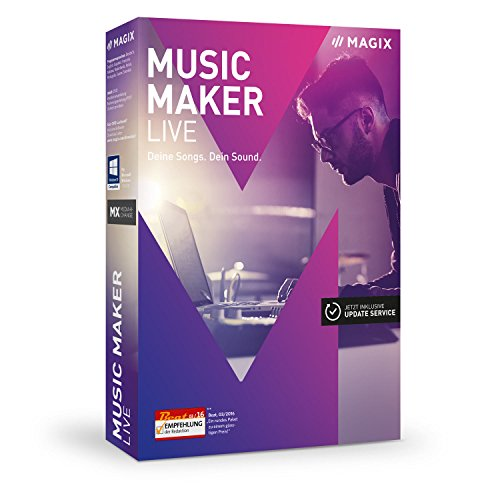 MAGIX Music Maker – 2017 Live Edition – Musik machen mit Loops
