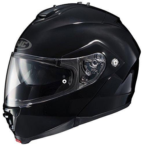 HJC IS-MAX2 Solid Modular/Flip Up Helmet (Black, X-Small)
