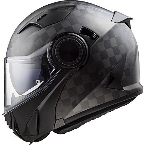 503131098M - LS2 FF313 Vortex Solid Motorcycle Helmet M Matt Carbon