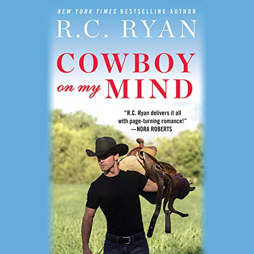 Cowboy on My Mind audiobook cover art