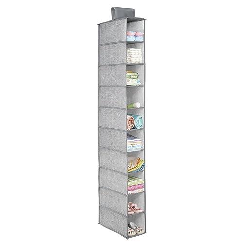 Diswa Multicolour Fabric Shoe Organizer, 30x15x12cm