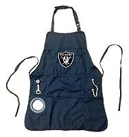 Team Sports America NFL Logo Grilling Utility Apron (Oakland Raiders)