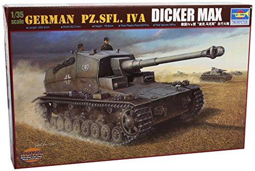 Trumpeter 00348 Modellbausatz German Pz.Sfl. IVa Dicker Max