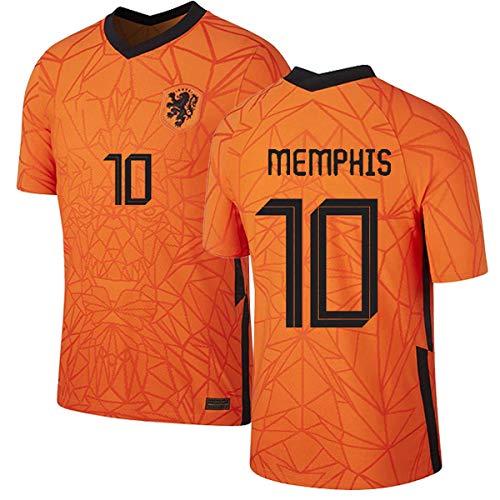 Strootman Memphis Nederland Oranje Shirt 2020/21,Mannen en Kinderen Shirt
