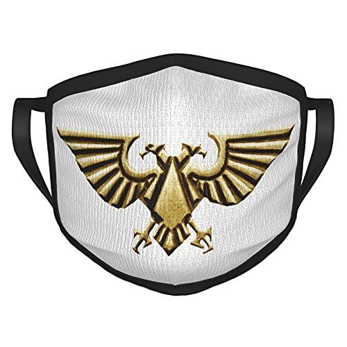 ZVEZVI Warhammer 4k EagleMascarilla Reutilizable pasamontañas Lavable al Aire Libre Nariz Cubierta de la Boca Moda para Hombres Unisex Mujeres