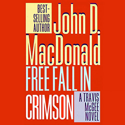Free Fall in Crimson audiobook cover art