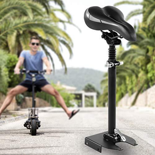 Nuobi Sillín de Asiento de Scooter, 100 kg con Asiento de Scooter de Tornillo, antioxidante para Scooter eléctrico Scooter al Aire Libre