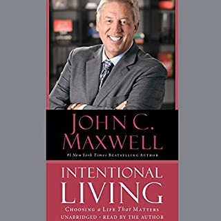 Intentional Living audiobook cover art