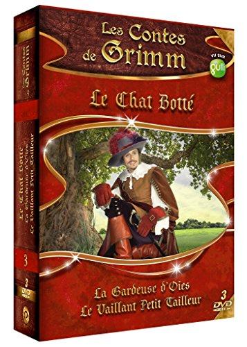 Les Contes de Grimm-Coffret 3 DVD-Vol.2 Le Chat Botté-La gardeuse d'oies-Le Vaillant Petit Tailleur