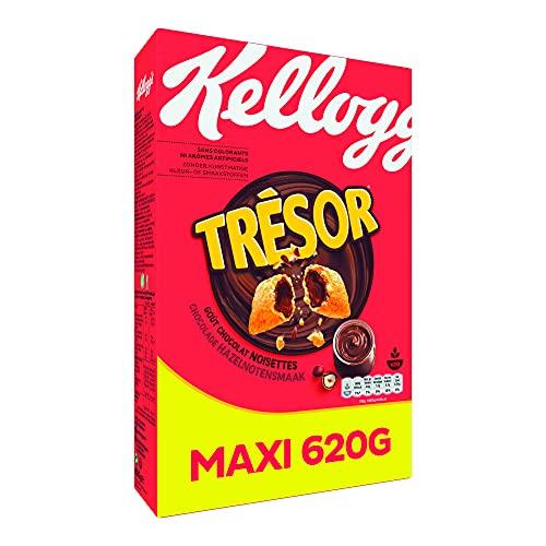 Tresor Céréales Trésor Kelloggs Chocolat Noisettes 620 g