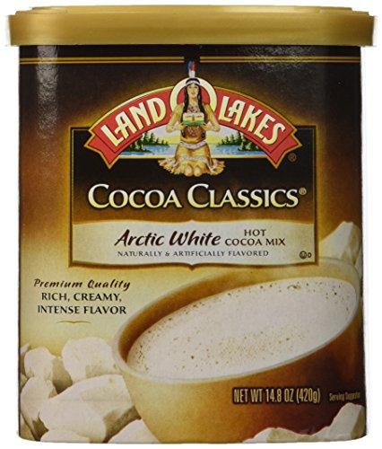 Land O'Lakes Hot Cocoa Classics Mix: Arctic White 14.8 ounce (2 Pack)