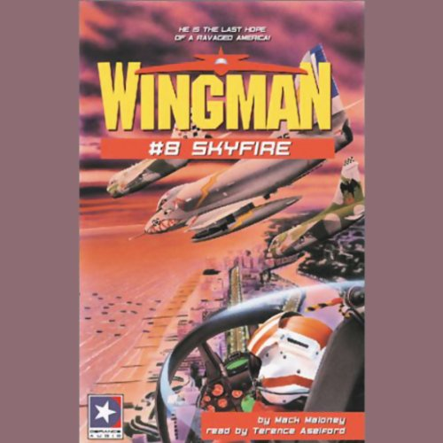 Wingman #8 audiobook cover art