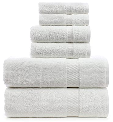 Turkuoise Turkish Towel Premium Turkish Cotton Double Border Towel Set - Eco Friendly,Bath Towels, Hand Towels, Wash Clothes