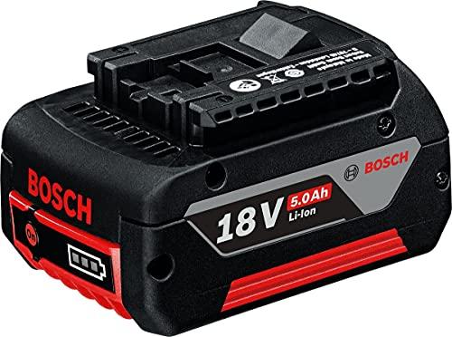 Bosch Professional GBA 18V 5.0Ah - Batería de litio (1 batería x 5.0 Ah, 18V)