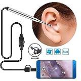Ear Endoscope Cleaning Camera, HD 1 Mega Pixel Borescope Inspection Camera, 3.9Mm Small