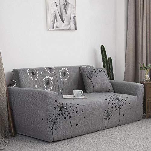 Funda Elastica para Sofa Ajustable 2 plazas y 4 plazas 2PCS, Chaise de Funda de sofá seccional elástica elástica, Funda de sofá Larga Sillón en Forma de L para Sala de Estar G