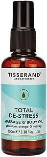 Tisserand Total De Stress Massage and Body Oil 100 ml, 100 milliliters