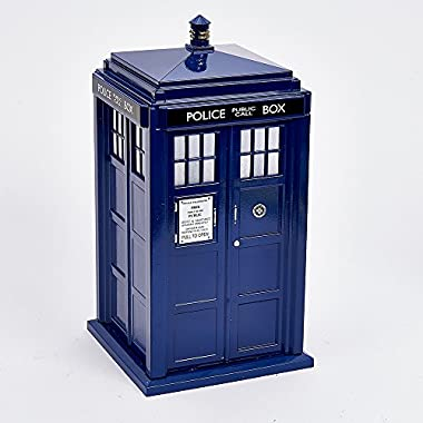 Kurt Adler 9  Dr Who Tardis Treetop with Light