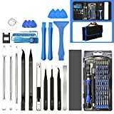 E·Durable 86in1 Herramientas pc Kit Destornilladores Precision Juego Destornilladores Precision Profesional Herramientas Completa para electronico reparación iPhone, iPad, Reloj, Tablet PC, MacBook