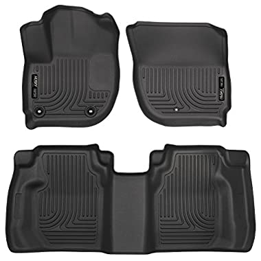 Husky Liners Front & 2nd Seat Floor Liners (Footwell Coverage) Fits 15-18 Fit