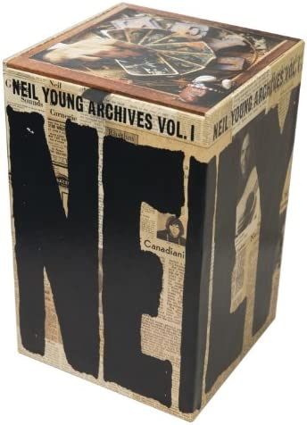 Neil Young Archives Volume One Blu ray product image