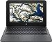 "Newest Flagship HP Chromebook, 11.6"" HD (1366 x 768) Display, Intel Celeron Processor N3350, 4GB LPDDR2, 32GB eMMC, Chrome OS, HD Graphics 500, 11A-NB0013DX, Ash Gray (Renewed)"