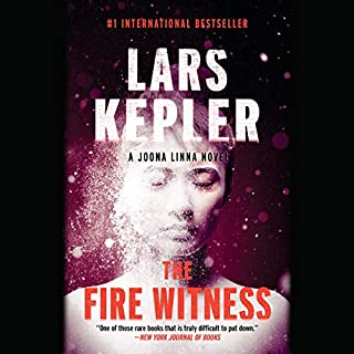The Fire Witness audiobook cover art