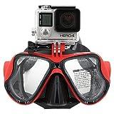 TELESIN Dive Tauchen Maske W/Halterung Kompatibel mit GoPro Hero3, 3+ und 4/4Session, Schwimmen...