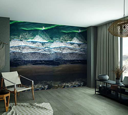 marburg Fototapete XXL Braun Türkis Motiv Natur Tapete für Schlafzimmer Wohnzimmer oder Küche 100% Made in Germany PREMIUM QUALITÄT 2,70m x 1,59m 32546