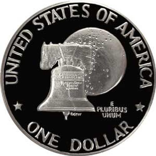1976 S Type 2 Gem Proof Bicentennial Eisenhower Dollar US Coin Ike