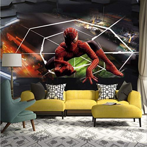 Spiderman Foto Tapete Wandbilder Moderne 3d Wandpapiere Kinderzimmer Wohnzimmer Schlafzimmer Breite 220cm * Höhe140cm pro