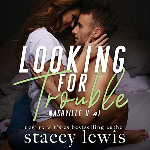 Looking for Trouble audiobook cover art