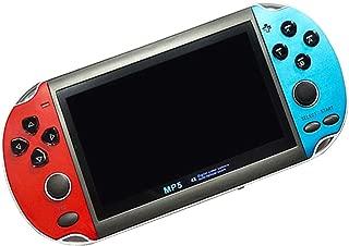 シュミ MP5ポータブルゲーム機  アップグレード版 内蔵3000種ゲーム贈  ダブルレバー付き 4.3インチ アーケード/GB/GBC互換用 レトロゲーム
