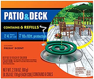 Off! House/Yard Mosquito Coil Refill 4 Count