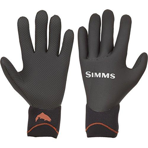 Simms Skeena Handschuhe, Größe M, Schwarz