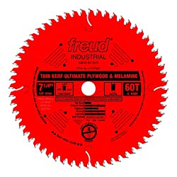 Freud 7-1/4 x 60T Thin Kerf Melamine Blade Review
