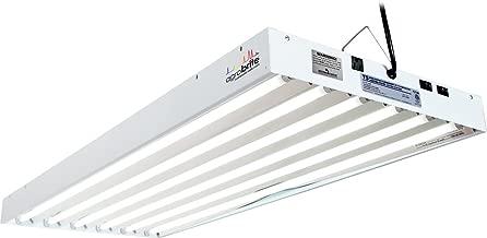 Hydrofarm Agrobrite FLT46 T5 Fluorescent Grow Light System, 4 Feet, 6 Tube