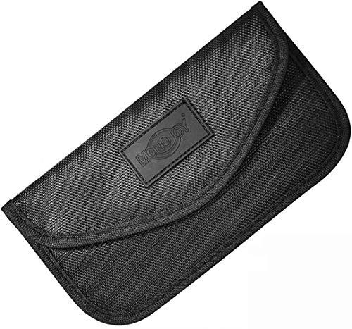 Shield keyless go, Estuche Bloqueador de señales de Apertura/Cierre del Coche, RFID Blocker Funda, Car Key Safe Caja, antirrobo Que bloquea el Dispositivo