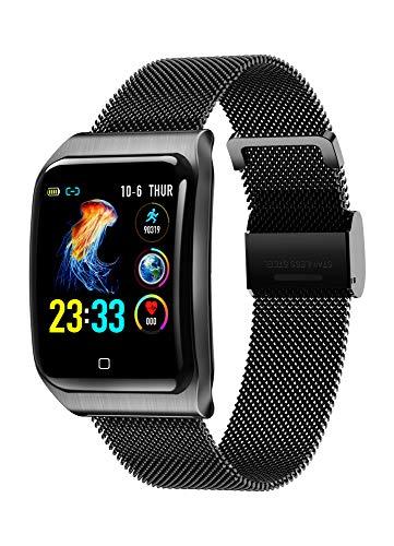 ZNSBH Smart Horloges, Fitness Trackers Fitness horloge Waterdichte Smart Horloges Stappenteller Horloge Activiteit Trackers Horloge Stap Counter voor Kinderen Vrouwen Mannen Bel SMS Push voor iOS Android