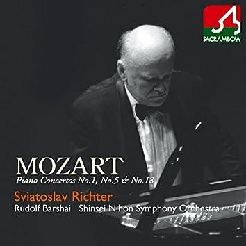 Mozart: Piano Concerto No. 1, No. 5 & No. 18