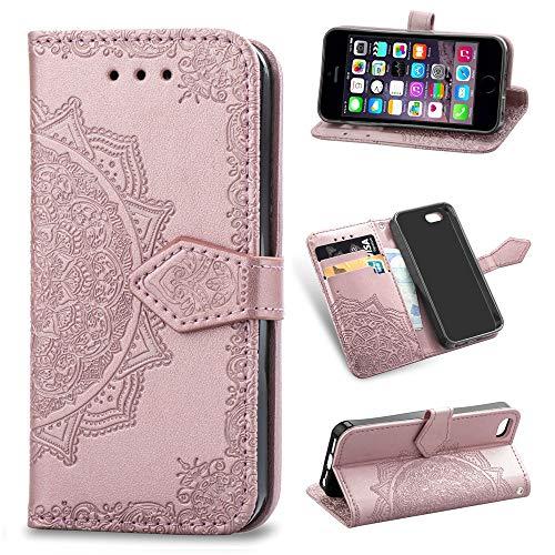Abuenora Funda para iPhone SE 4.0