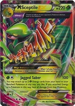 Mega/M Sceptile EX  XY Ancient Origins #8/98  Rare/Holo-Foil Pokemon Card