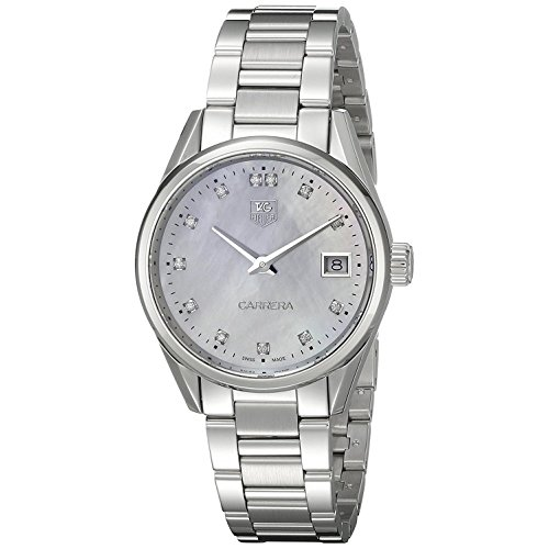 TAG Heuer Carrera Damen-Armbanduhr Diamant 32mm Batterie Analog WAR1314.BA0778