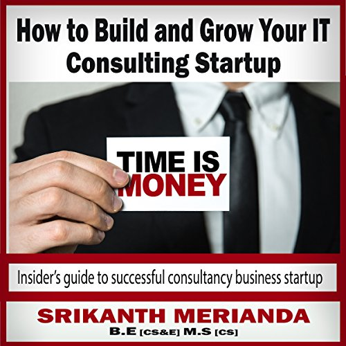 How to Build and Grow Your IT Consulting Startup audiobook cover art