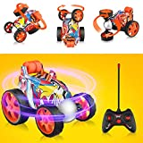 Blasland Remote Control Car - RC Vehicle Four Wheel Stunt Car, 360 Degree Rolling Rotating Rotation...