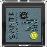 Sante Naturosmetik Natural Eyeshadow 03 Nightsky Navy, ombretto opaco, estratti biologici, vegano, 1,8 g
