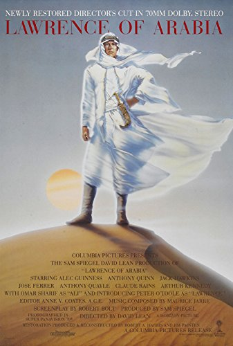 Da Bang Lawrence of Arabia Movie Poster 1962 Hollywood Classic 24x36inch