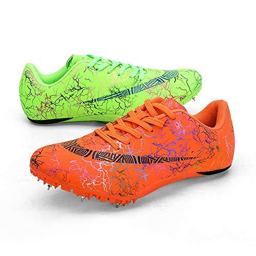 AZUOYI Spike Schoenen Track en Field Mannen Vrouwen Spikes Atletiek Racing Running 8 Spikes Schoenen Track en Field Sneaker Rubber Track voor Jongens Meisjes