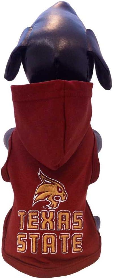 All Star Dogs safety NCAA Superlatite Texas State Bobcats Hooded Dog Cotton Sweatsh